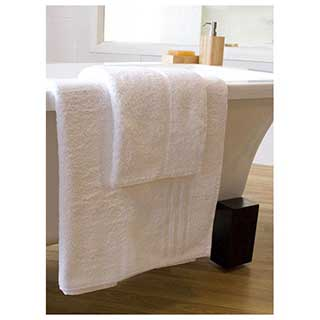 500gm Header Bar Hotel Towels