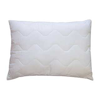 Hotel Pillows - Trubliss Pillow - 100% Cotton Quilted Cover - Polyester Fill - 48x66cm - White