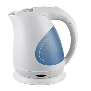 Hotel Kettle - Cordless Jug Kettle - 1 Litre - White
