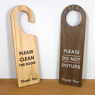 Do Not Disturb Door Sign - Wooden